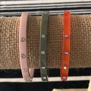 J. Crew Lucite Bracelet Bundle